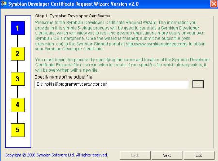 Получение сертификата symbian xpressmusic сертификация смк предложения